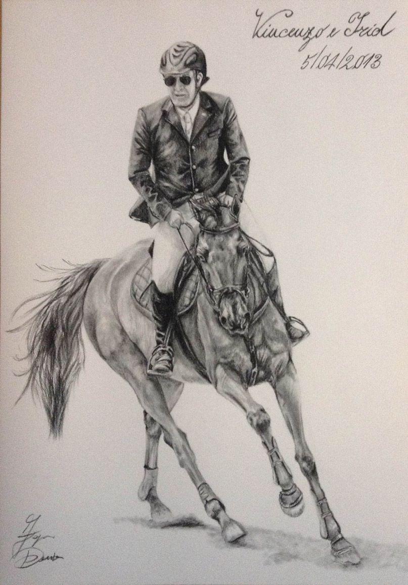 Carboncino galleria ritratti di cavalli quadri di for Immagini disegni cavalli