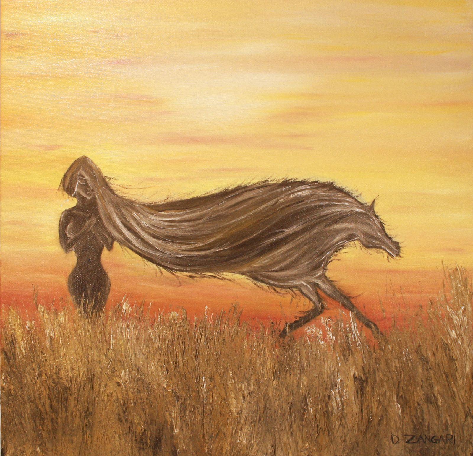 Olio su tela galleria ritratti di cavalli quadri di for Immagini disegni cavalli