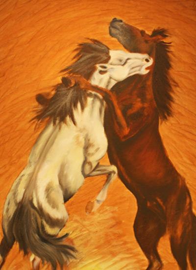 Ritratti di Cavalli | Quadri di Cavalli | Zangari Arte Equestre